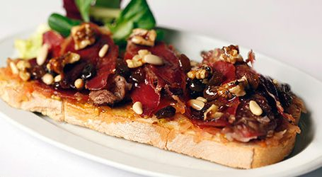 The Best Lomo Iberico Toast