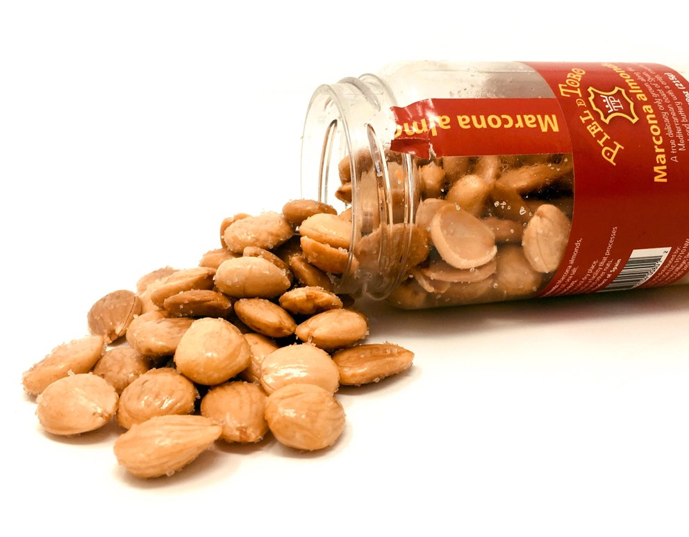 Roasted Marcona Almonds w/ Sea Salt